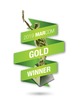 Sandstorm wins Marcom Gold Award