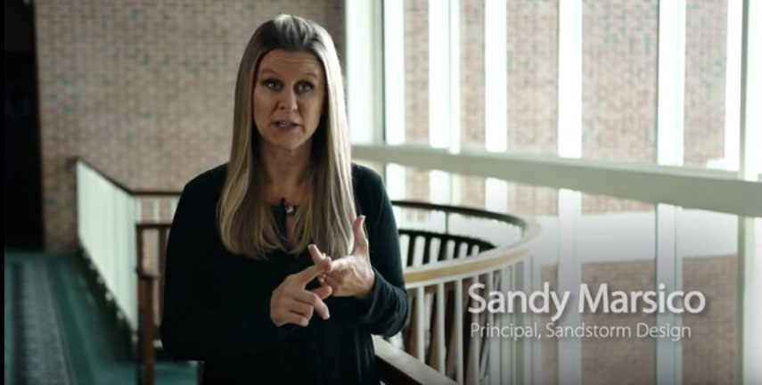 Wall Street Journal and Vistage interview of Sandy Marsico, Sandstorm